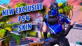 NEW EXCLUSIVE CARBON COMMANDO SKIN for PS4 in Fortnite - Fortnite Battle Royale