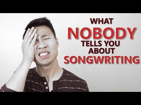 What NOBODY tells you about SONGWRITING (Songwriting Motivation)