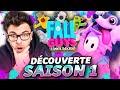 Gambar cover FALL GUYS : Découverte SAISON 1 ... Et Déjà TOP 1 ?! + Pass de Saison
