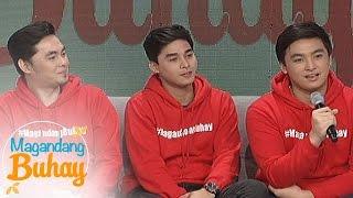 Magandang Buhay: McCoy as a son and brother