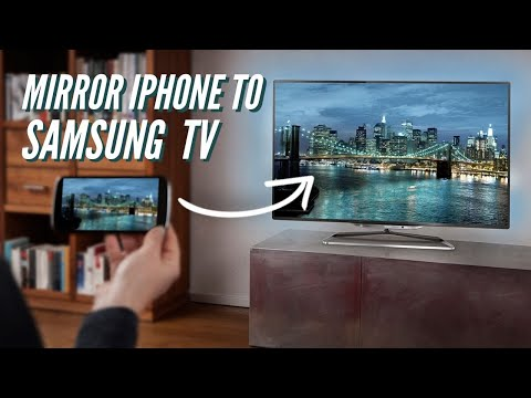 How To Mirror IPhone To Samsung Smart TV