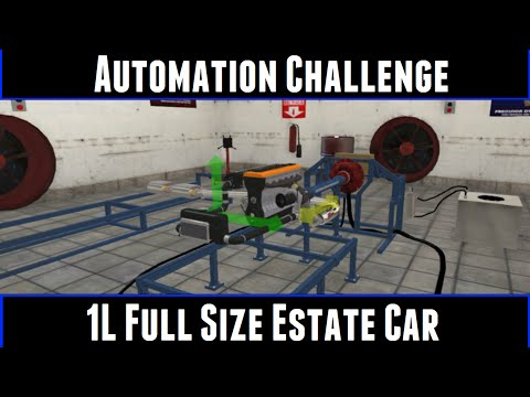Automation Challenge 1L Full Size Estate Car