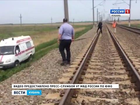Грузовой поезд насмерть сбил двух студенток