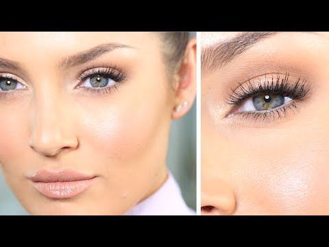 My 'JLo Glow' Neutral Eye Talk-Through Tutorial + Outfit \\ Get Ready With Me!