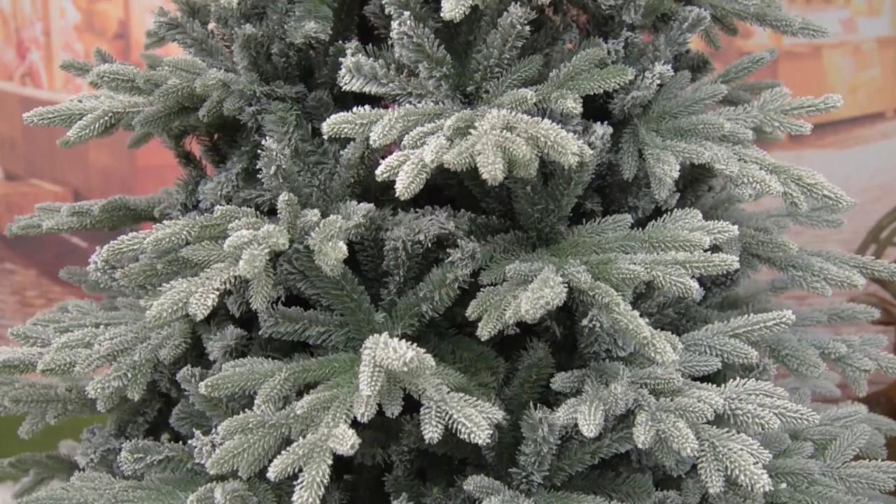 Albero Di Natale H 240.Albero Di Natale Real Touch Innevato Romanov In Pe Pvc Flock H 180 210 240 270 Cm