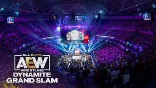 What a Moment! AEW Starts off Grand Slam Week with a Bang in NYC | AEW Dynamite Grand Slam, 9/22/21