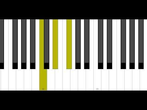 C Diminished Piano Chord Youtube