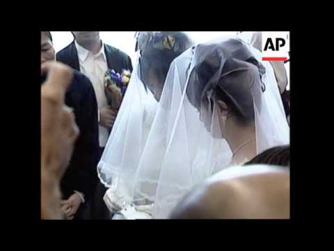 Gay wedding highlights demands for equal rights from YouTube · Duration:  1 minutes 43 seconds