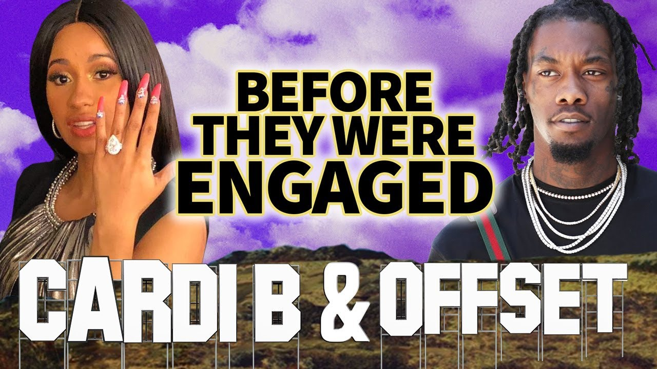 Is Cardi B Engaged To Offset From Migos: Before They Were ENGAGED