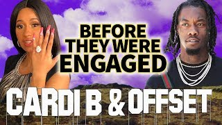 CARDI B & OFFSET | Before They Were ENGAGED | Proposal Video