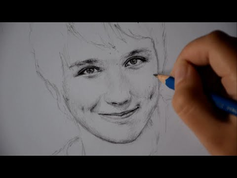 Speed Drawing - Dan Howell - Pencil Sketch