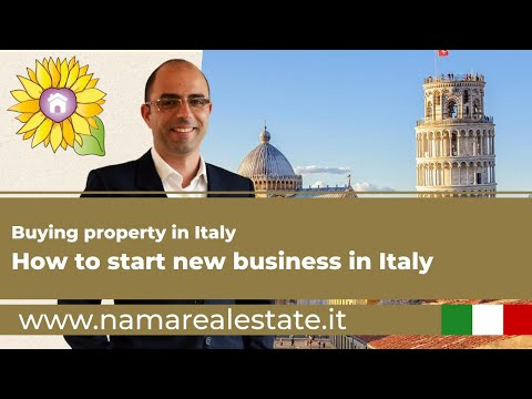 How to buy a property in Italy - To start new business in Italy - Tuscany