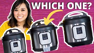 Instant Pot Duo 3, 6, & 8 qt UNBOXING - WHICH INSTANT POT TO BUY