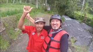 Bali White Water Rafting At Telaga Waja River December 2015