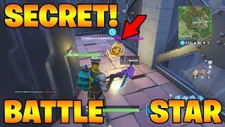 Secret Battle Star Week 4! Fortnite Season 4