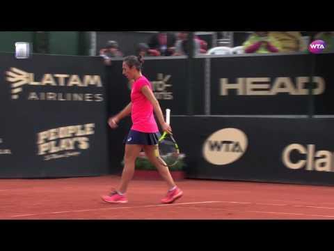 2017 Bogota Semifinal   Francesca Schiavone vs Johanna Larsson   WTA Highlights