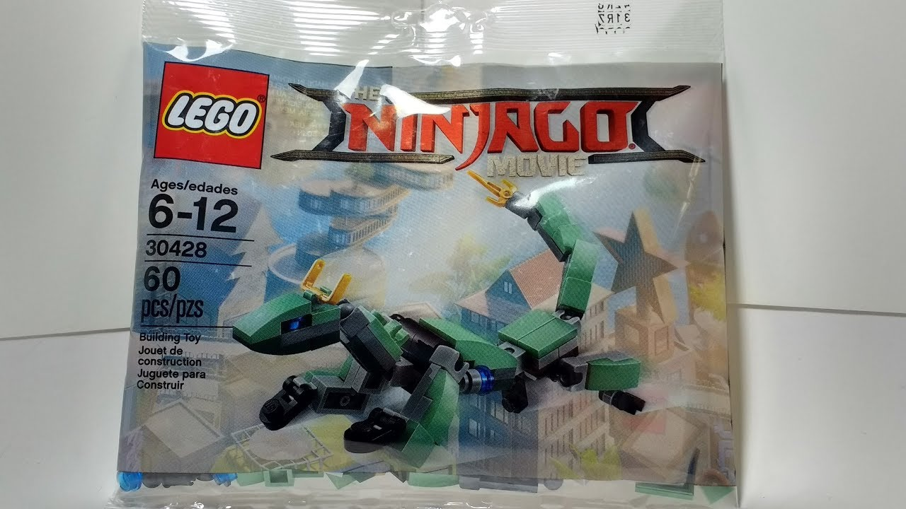 Set ReviewThe Movie Green Ninjago Ninja Mech Dragon Lego Mini 9IYeDH2WE