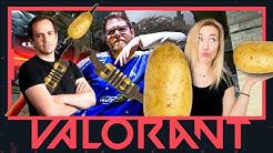 TEAM KARTOFFELAIM | Valorant mit Just Johnny und Broeki