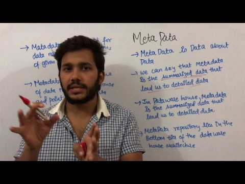 Data Warehouse & Mining 16 Meta data