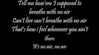 no air lyrics