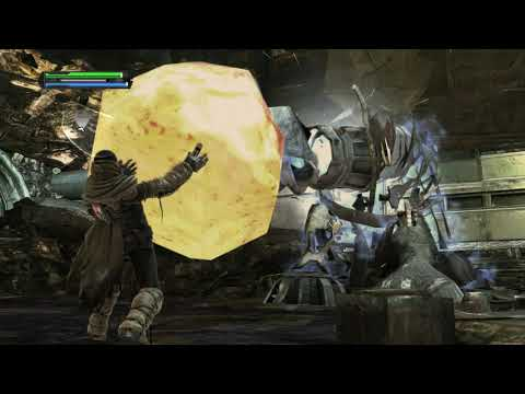 Star Wars The Force Unleashed - Raxus Prime Miniboss Fight |