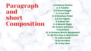 Download Video Top 16 Paragraph and short composition for class 9/10/11/12 MP3 3GP MP4