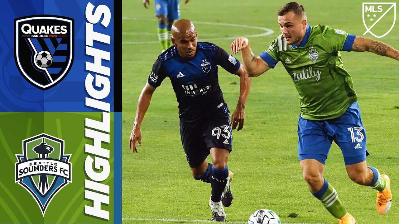 San Jose Earthquakes vs. Seattle Sounders FC   MLS Highlights   October 18, 2020