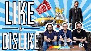 LIKE & DISLIKE: Epic Games Store, Team Sonic Racing, Fortnite, Raising Kratos...