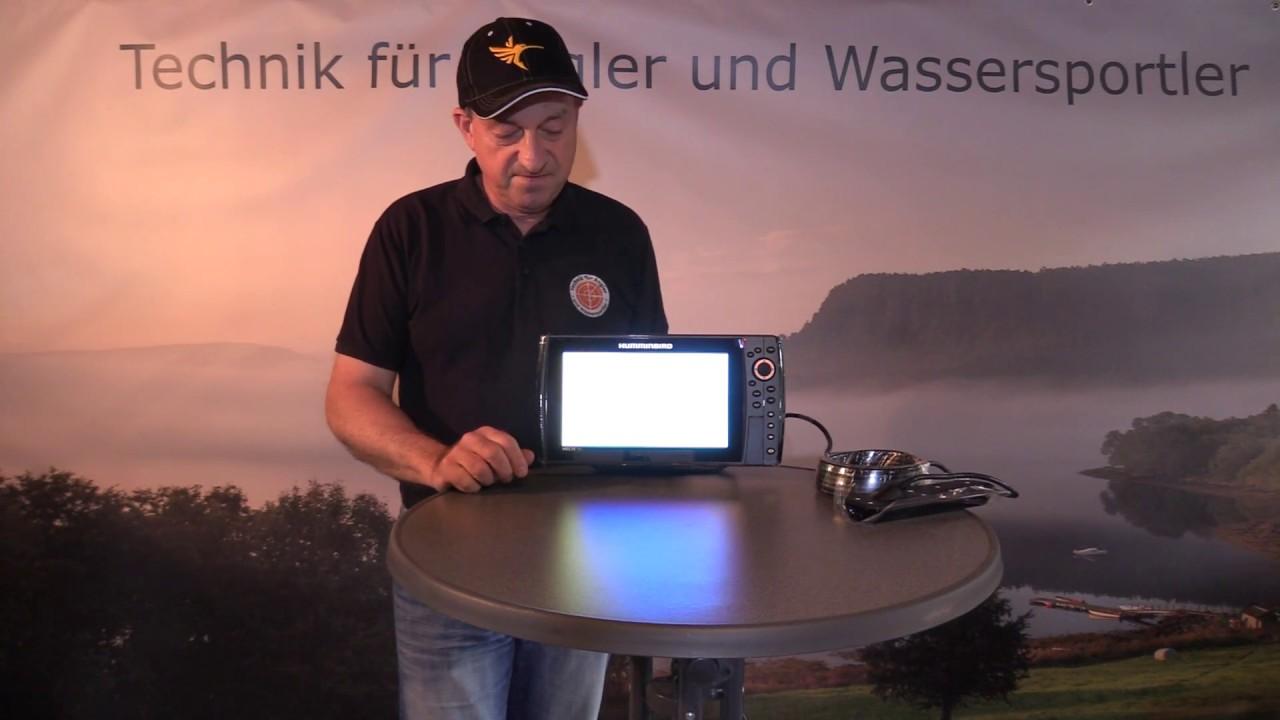 Introduction Humminbird Helix 10 Chirp Mega SI + GPS G3N Part 2