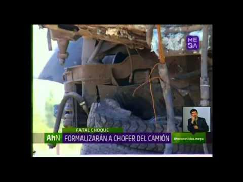 Dos muertos en choque de tren y camión en Requínoa