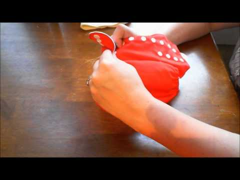 How to SNAP Cloth Diapers