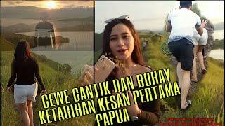 CEWE CANTIK DAN BOHAY KETAGIHAN KESAN PERTAMA PAPUA (Jurnal Perjalanan Sentani Jayapura Papua)