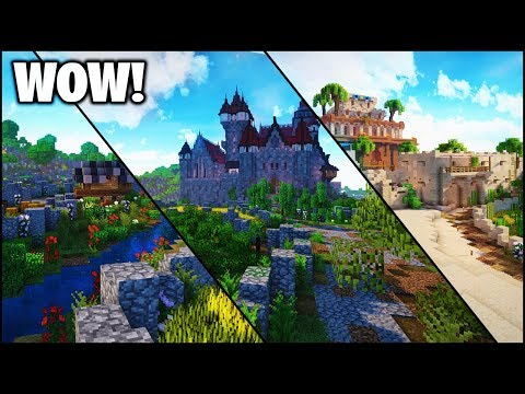 Minecraft: Epic Survival World - Castles/Deserts/Cities (Map Download)