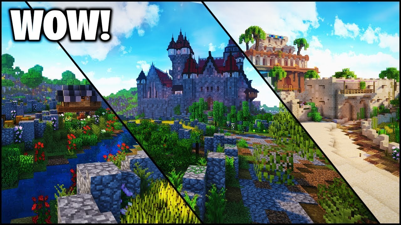 Minecraft epic survival world castlesdesertscities map minecraft epic survival world castlesdesertscities map download gumiabroncs Gallery