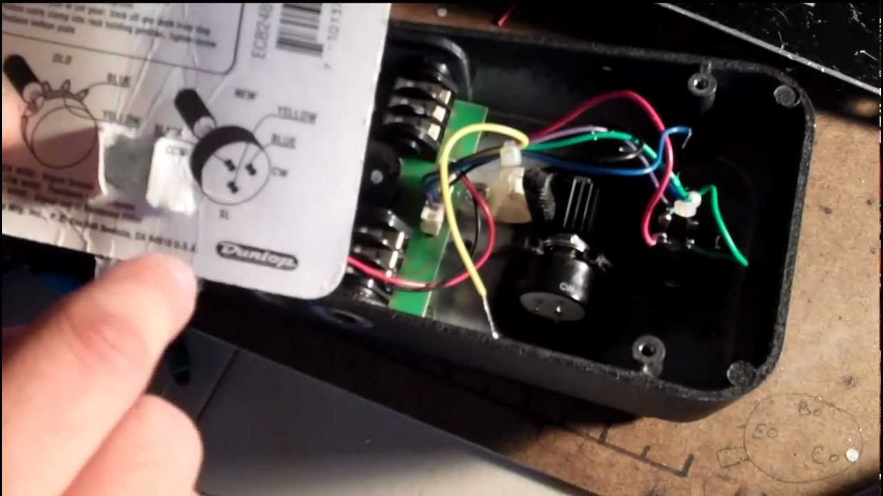 How To Fix A Scratchy Wah Pedal For Good Youtube