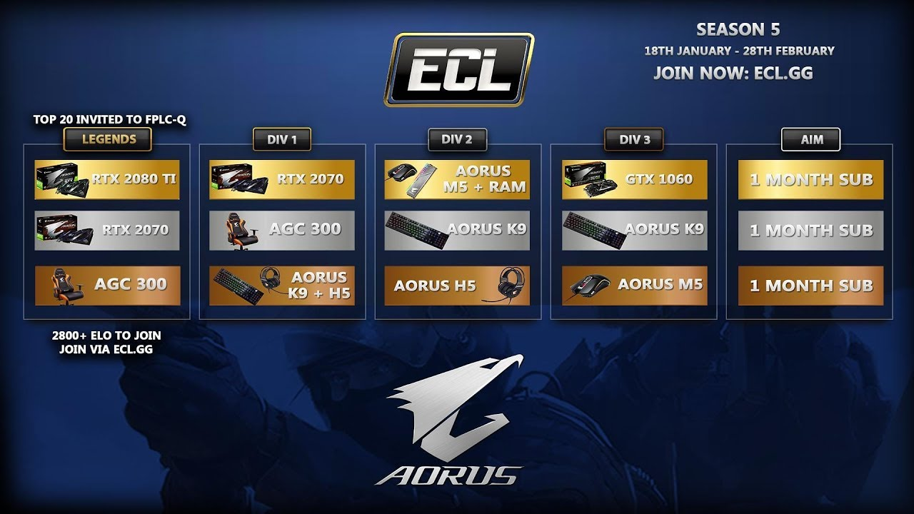 Faceit Ecl Legends 26 01 2019 You