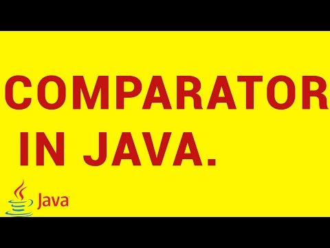 Java Comparator explained in 10 Minutes.