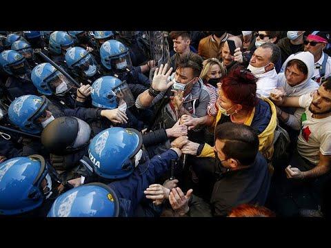 شاهد: مظاهرات في روما احتجاجا على قيود الإغلاق  - 20:56-2021 / 4 / 6