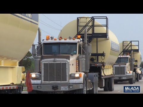 McAda Liquid Mud Mixing & Storage Tanks
