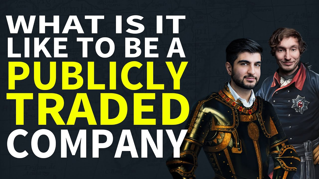What is it like to be a Publicly Traded Company - Paradox Podcast - The Business of Video Games