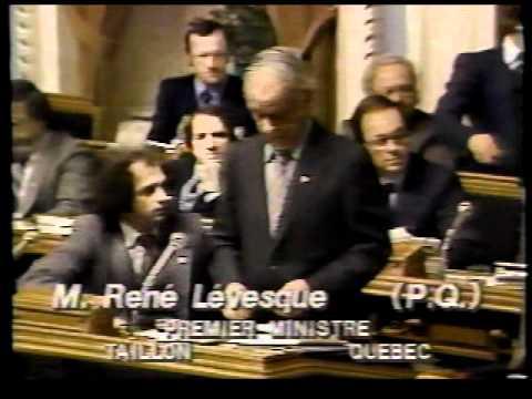 Annonce du décès de René Lévesque et témoignage Claude Charron 1987