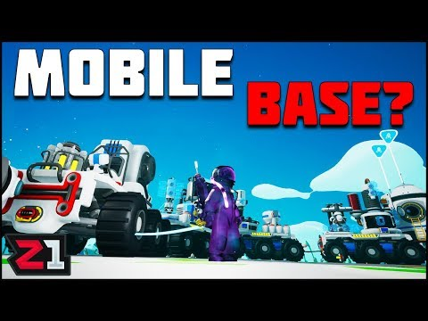 Trying to Build a MOBILE BASE ! Will it Work? Astroneer 1.0