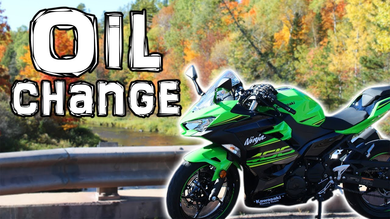 Ninja 400 Oil Change