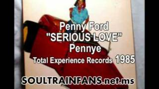 "SOULTRAINFANS JUKEBOX: Penny Ford ""SERIOUS LOVE"" 1985"
