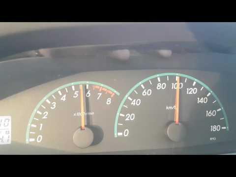 Toyota Belta 1.0 CVT 0-100 Km/h Acceleration