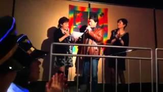 ヒロシ&キーボーの 3年目の浮気で初の生で歌っちいました。 ありがとう...