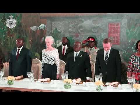 H.M. Dronningen på statsbesøg i Ghana