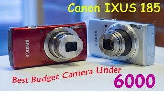 Canon IXUS 185 Unboxing