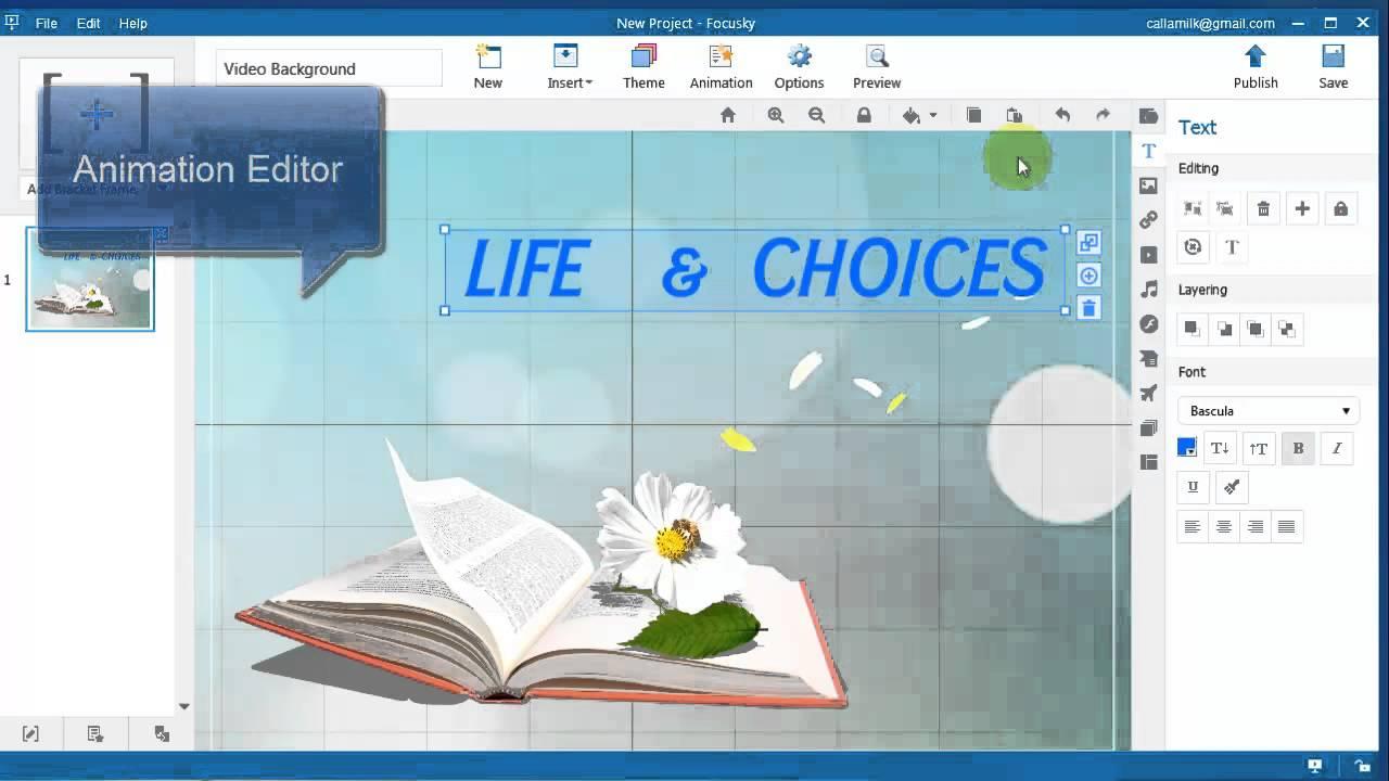 free online presentation maker focusky facilitates your digital