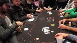Баббл в Главном Событии WSOP Europe